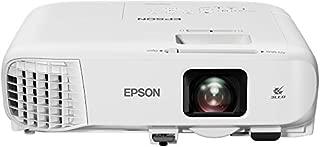 Epson 爱普生 EB-2042 3LCD 投影仪(XGA 1024 x 768,4400 ANSI 流明,15000:1 对比度,分离屏幕功能,2 x HDMI)