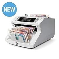 Safescan 2265 - 纸币计数器用于未分类的纸币,带 5 点假冒检测 - 适用于聚合物钞票,包括新款 20 英镑