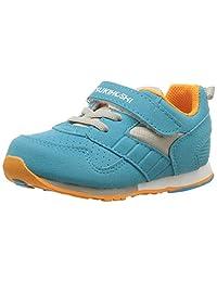TSUKIHOSHI 儿童男婴赛车(婴儿/幼儿)蓝绿色/橙色运动鞋