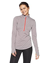 Under Armour running Streaker first layer of 1/2 with zip for Women