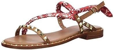 Ash 女士 As-Pattaya 平底凉鞋 Cuoio/Cardinal 6 M US