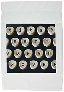 florene vintage–THIS 老式打字机–旗帜 12 x 18 inch Garden Flag