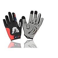 RocRide 进化骑行手套,带感官凝胶衬垫保护。 全指尖。 男士、女士和儿童尺码。