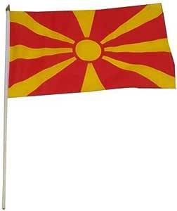 马其顿国旗 30.48 x 45.72 厘米 1包 BYLMK1218