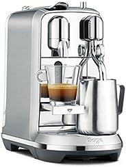 Sage NESPRESSO 胶囊咖啡机 SNE800BSS Creatista Plus 配有奶泡装置 拉丝不锈钢