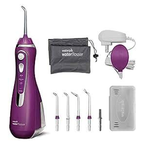 waterpik 洁碧 无线高级水牙线 充电式便携口腔冲洗器 ,适合旅行和家庭使用,Wp 565 兰花 (紫色)