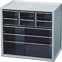 IRIS OHYAMA 小物品柜子 幅30.8×奥行21×高さ29cm 浅灰色