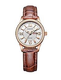 ROSSINI 罗西尼 石英女士手表 5630G01D(亚马逊自营商品, 由供应商配送)