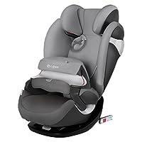 (跨境自营)(包税) 德国CYBEX儿童安全座椅派乐斯Pallas m-fix isofix硬接口 17款曼哈顿灰(德国品牌
