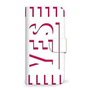 MITAS 智能手机保护壳翻盖型 Yes No 简约  C 3_Galaxy S6 (SC-05G)