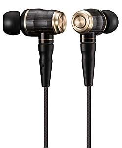 JVC HA-FX1100 WOOD系列 入耳式耳机  re-cable/支持高分辨音源 黑色