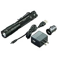 Streamlight 88030 ProTac 1L 275 Lumen 专业战术手电筒,带高/低/闪光灯带 1 个 CR123A 电池 88054