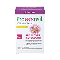 Promensil, Post Menopause, Red Clover, Isoflavones, 40mg Plus Calcium & Vitamin D3-30 Tablets (1 Month Supply)