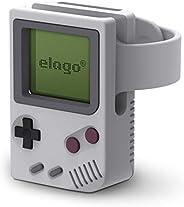elago W5 蘋果手表系列 4 / 系列 3 / 系列 2 / 系列 1 44mm / 42mm / 40mm / 38mm [夜架模式][*申請中]EST-WT5-BK