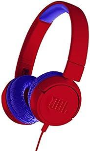 JBL 儿童用 耳机 搭载音量控制功能/带自定义贴纸JBLJR300RED  有线型
