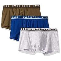 HUGO BOSS 雨果·博斯 男士3条装弹力棉质常规版贴身平角内裤