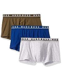 雨果博斯(HUGO BOSS) 男式平角内裤3件装