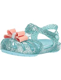 Crocs 儿童 Isabella 蝴蝶结装饰凉鞋
