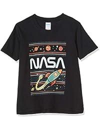 品牌限量女孩 NASA Fair Isle T 恤