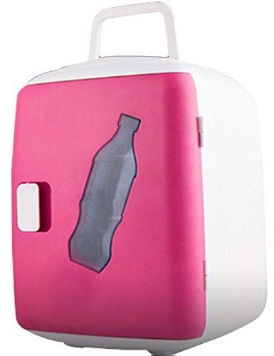 帕杰帝 车载冰箱 12L 车家两用冰箱 汽车冷暖箱 冷冻冷藏保鲜暖箱 冷热车家两用型 迷你小冰箱 玫红色