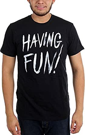 Volcom 男士 Having Fun S/s T-shirt 黑色 大