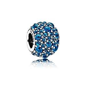 PANDORA 潘多拉 女士蓝调寒露925银串珠 791755NLB (丹麦品牌 香港直邮)