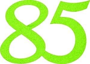 Petra's Bastel News A-GEF3385-61 Streudeko Fliz,苹果绿,18 x 12 x 3厘米