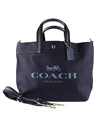 Coach 蔻驰帆布和皮革 XL 大手提包