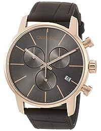 Calvin Klein 卡尔文克莱恩 美国品牌 瑞士制造 CK City chrono系列 石英手表 男士腕表 K2G276G3