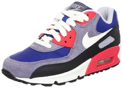 Nike 耐克 女 休闲运动鞋 WMNS AIR MAX 90 325213-406 暗宝蓝/帆白/碳黑/黑 38