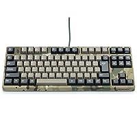 FILCO 斐尔可 Majestouch2 Camouflage-R 无数字小键盘 日语排列 无假名 Cherry MX 青轴 机械键盘 USB&PS/2 迷彩色 FKBN91MC/NMR2