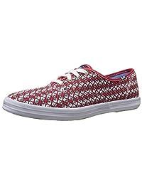 Keds Taylor Swift Guitar 女士红色时尚运动鞋