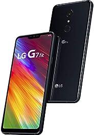 "LG G7 Fit 32GB 6.1"" 智能手机 - GSM+CDMA 工厂解锁适用于所有运营商- Aurora Black("