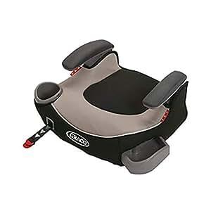 (跨境自营)(包税) GRACO 葛莱 汽车儿童安全座椅增高垫4-12岁 ISOFIX\LACTH 灰色