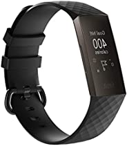 MyFitbit Charge 3 替換運動表帶金屬扣