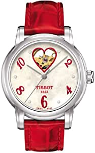 TISSOT 天梭 瑞士品牌  心媛系列机械手表 女士碗表  T050.207.16.116.02
