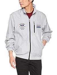 [BELNA ] 拉鏈茄克衫 品牌設計內側網狀拉鏈茄克衫 441975