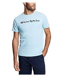 Nautica 男士短袖圆领 Regatta 83 系列 * 纯棉 T 恤