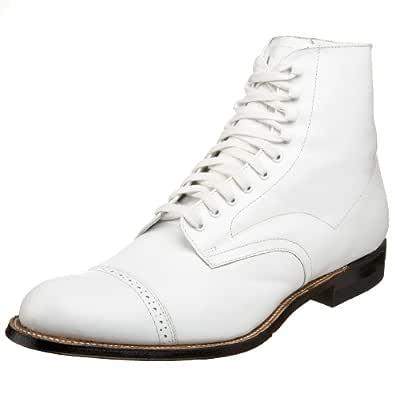 Stacy Adams 男式麦迪逊靴 White - 15 10.5 D(M) US