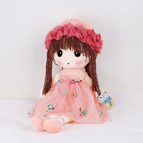 爱萌兔 可爱菲儿布娃娃花仙子毛绒玩具公仔大号公主玩偶女生儿童生日