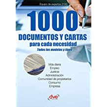 1000 documentos y cartas para cada necesidad (Spanish Edition)