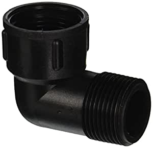 "Orbit 3/4"" Male x Female Swing Joint Elbow Sprinkler System Pipe Fitting, 37164D 1"