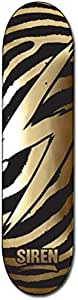 Siren S 标志虎金色箔滑板甲板