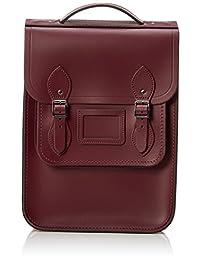 The Cambridge Satchel Company 中性 肖像背包 PBPNA1005BNH10101 棕红色 26 * 9 * 35.5cm (亚马逊进口直采, 英国品牌)