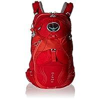 Osprey 女式 米拉 Mira 18 红色 均码 双肩背包 户外山地骑行水袋轻量舒适透气背负 三年质保终身维修 (两种LOGO随机发)【骑行系列】