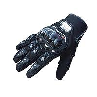 澎逸摩托车手套户外骑行赛车手套全指越野骑行机车半指骑士手套