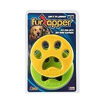 FurZapper 2 件装 - 洗衣宠物毛发去除器