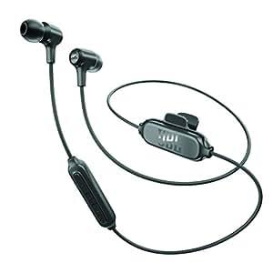 JBL E25BT 无线蓝牙入耳式立体声音乐耳机 多点对应/可通话 黑色 JBLE25BTBLK