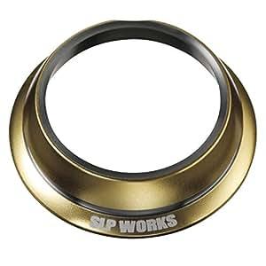 Daiwa SLP WORKS发动机板罩 水滴轮用 吉利昂SV TW发动机板 保护套 金色 A002