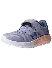 Under Armour 安德玛 男女同款 Preschool Surge 2 Alternative Closure 运动鞋 Purple Dusk (500)/Peach Frost, 11K